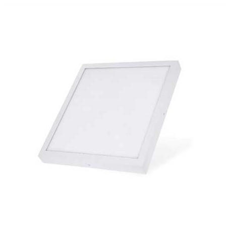 Plafon led superficie cuadrado 6W blanco