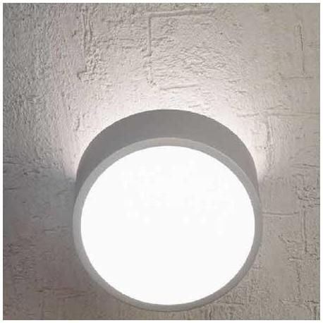 Aplique/Plafón de pared redondo para 2 bombillas G9