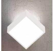 Aplique/Plafón de pared cuadrado para 2 bombillas G9