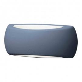 Aplique exterior FRANCY gris con bombilla 6W incluida