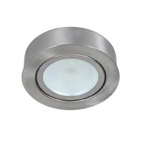 Downlight led níquel 3W 270m empotrar o superficie