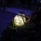 Lámpara led solar portátil para exterior