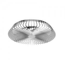 Ventilador de techo HIMALAYA plata DC LED CCT MANTRA