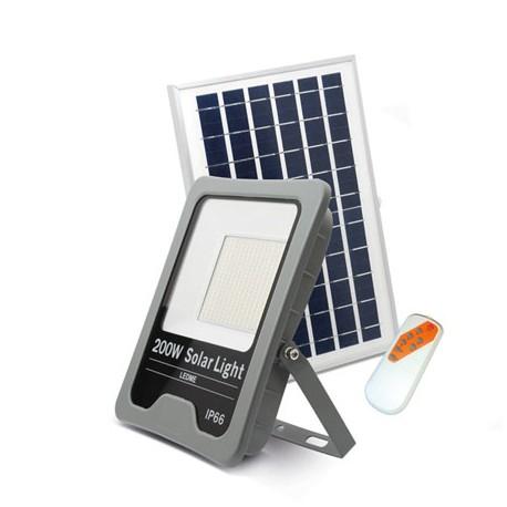 Foco proyector led solar 200W