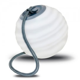Lámpara portátil SORA gris con bateria de Newgarden