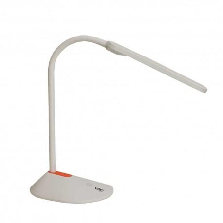 Lámpara led de escritorio 6W 4000K blanco y naranja
