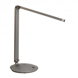 Lámpara de led de escritorio 8W 600Lm gris plata 4000K