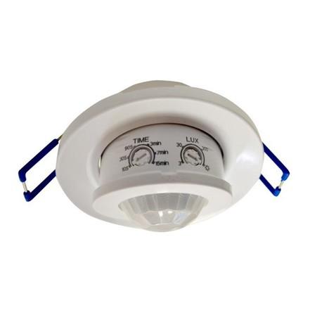 Sensor de movimiento orientable para empotrar en techo