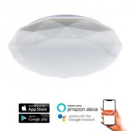 Plafón inteligente LED SmartHome Dial 24W App CCT