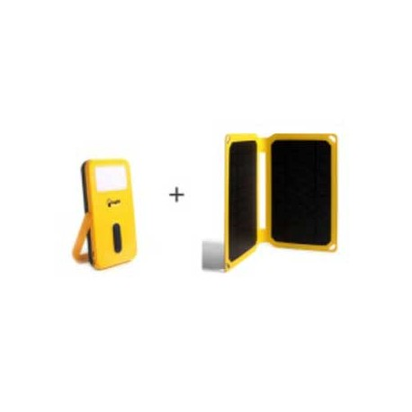 Pack solar Ecofriendly . Proyecto Light Humanity