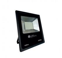 Foco led exterior 100W 12V/24V negro