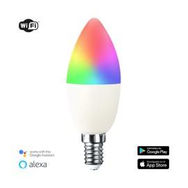 Bombilla inteligente Vela E14 5,5W RGB+CCT WIFI