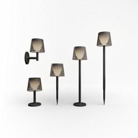 Lámpara solar GRETA de Newgarden (5 en 1) negra