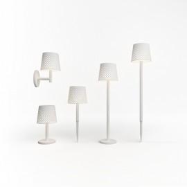 Lámpara solar GRETA de Newgarden (5 en 1) blanca