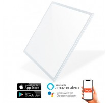 Panel de LED 60x60 SmartHome 40W CCT compatible con Amazon Alexa y Google Home