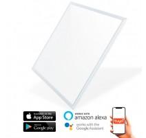 Panel de LED 60x60 SmartHome 40W CCT compatible con Amazon Alexa y Google Home