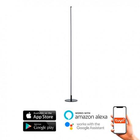 Lampara de pie SmartHome 20W CCT compatible con Amazon Alexa y Google Home