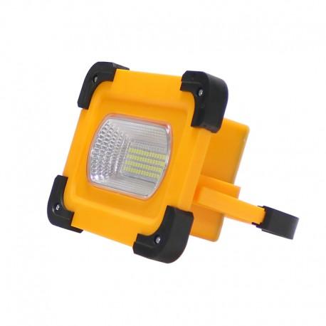 Foco proyector solar led portátil con bateria 30W