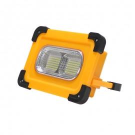 Foco proyector solar led portátil con batería 50W