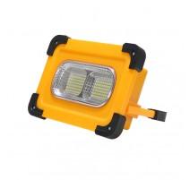 Foco proyector solar led portátil con bateria 50W