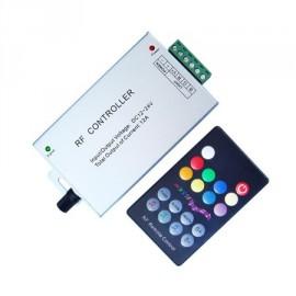 Controlador por audio y RF para tira de led