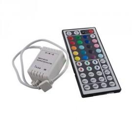 Controlador con mando IR para tira de led RGB