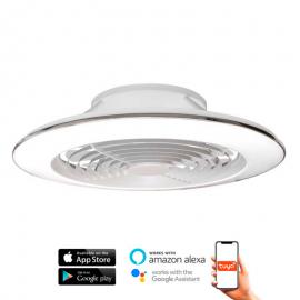 Ventilador de techo ALISIO XL blanco DC LED CCT MANTRA