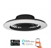 Ventilador de techo ALISIO XL negro