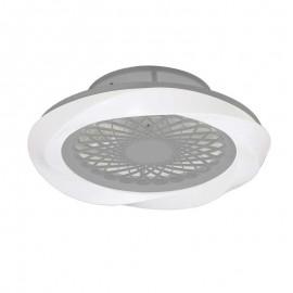 Ventilador de techo BOREAL plata DC LED CCT MANTRA