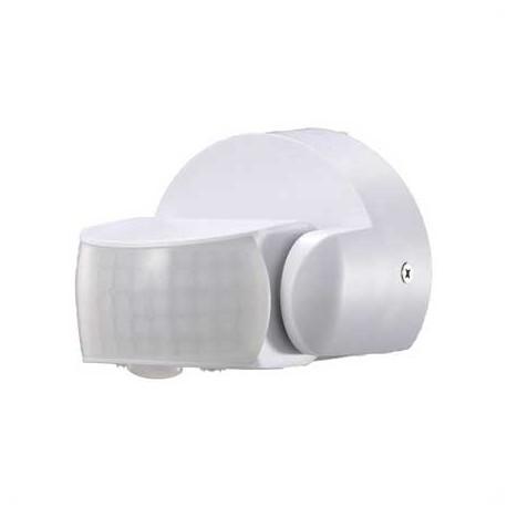 Sensor de movimiento infrarrojo blanco IP65