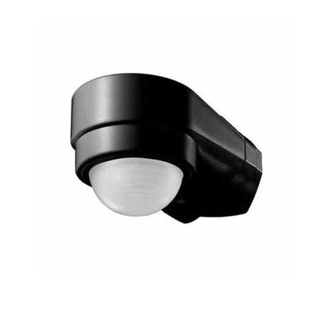 Sensor de movimiento infrarrojo negro corner 240º