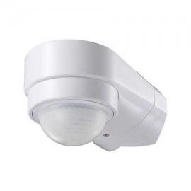 Sensor de movimiento infrarrojo blanco esquina 240º IP65