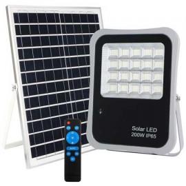 Foco proyector led solar 200W Lumiled 6000K