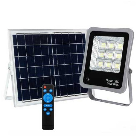 Foco proyector led solar 50W Lumiled 6000K