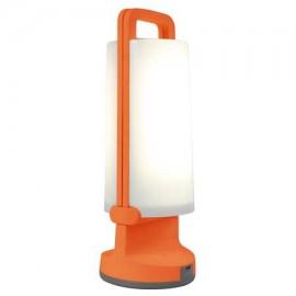 Lámpara solar portátil DRAGONFLY 1.2W naranja de Lutec