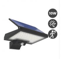 Aplique Solar led Factorled 90569 10W negro