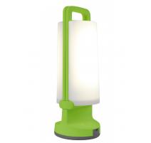 Lámpara solar led portátil Lutec Dragonfly 1.2W verde