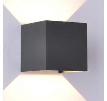 Aplique de pared led 005117 10W negro