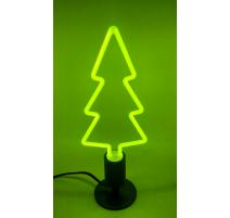 Pack bombilla led arbol de Navidad E27 y portalámparas negro