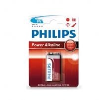 Pila alkalina Philips 9V
