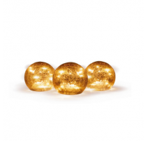 Conjunto de esferas luminosas led Newgarden Lua 10