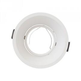 Aplique redondo blanco 94(Ø)mm con profundidad