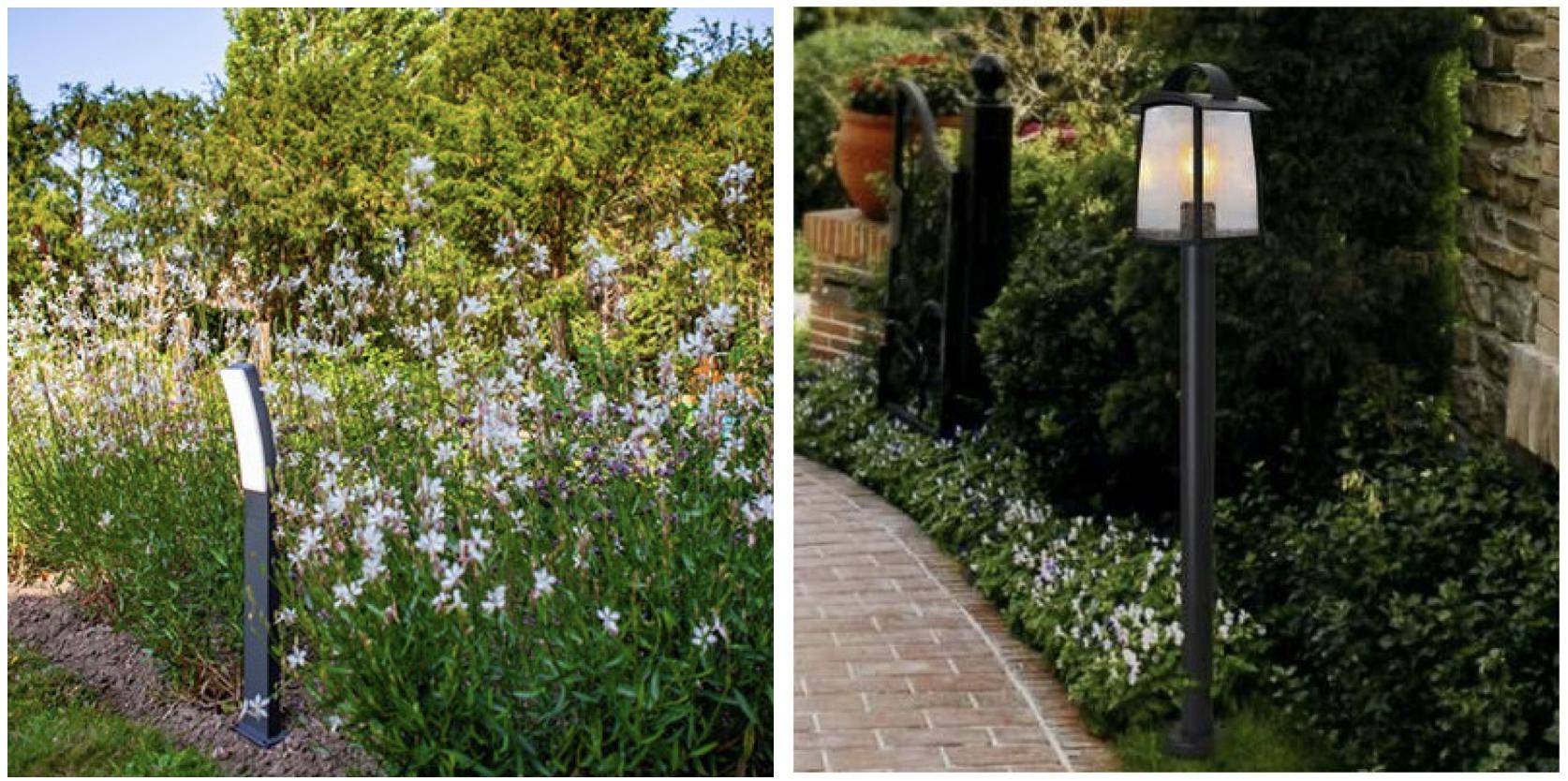 Farolas solares para jardines, los diseños más modernos para decorar todo tipo de ambientes. Farolas y balizas de exterior ideales para hosteleria.