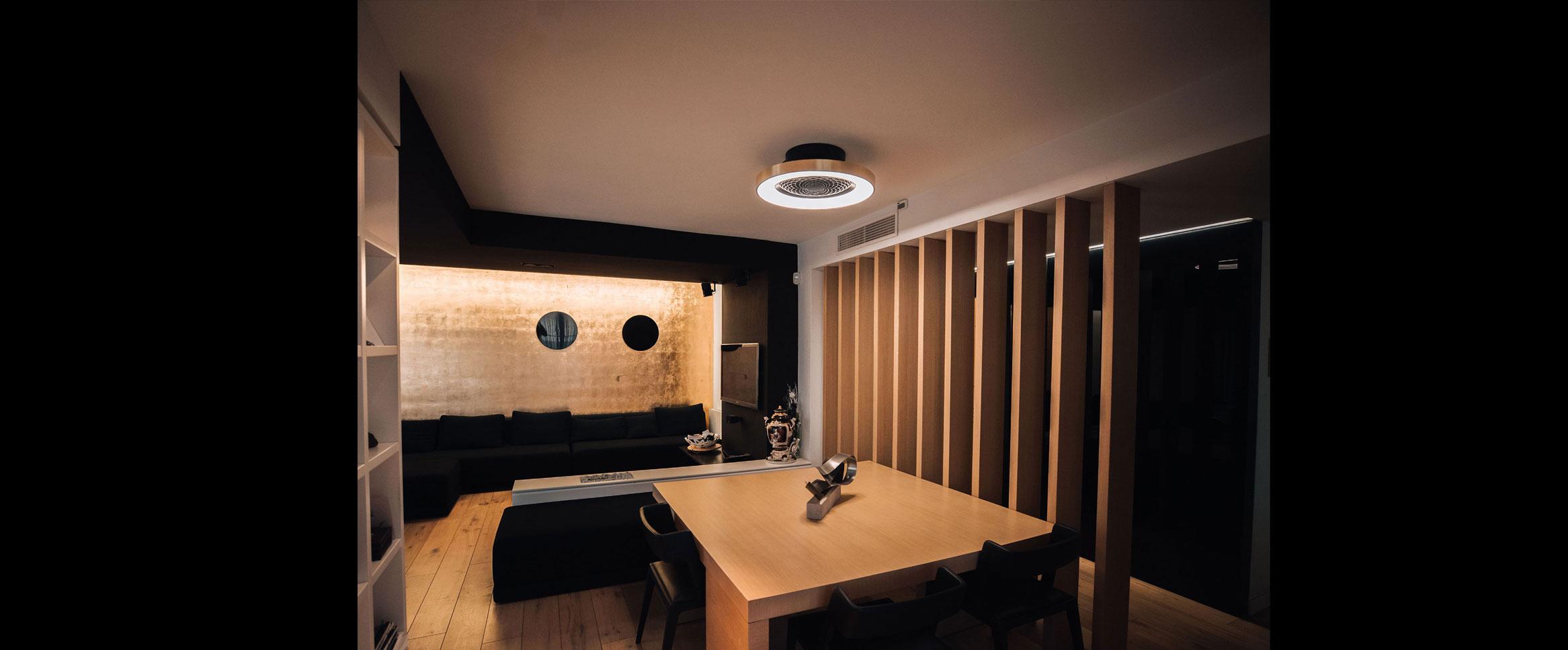 Comprar ventilador Mantra Tibet, el ventilador que se adapta a la decoración de tu hogar. El preferido para los proyectos de decoración e interiorismo. Ventiladores de techo moderno personalizables.