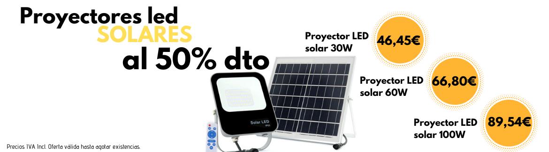 Oferta focos solares