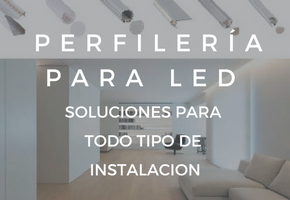 Perfileria de led